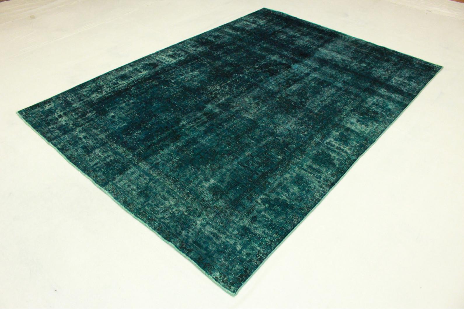 teppich vintage blau teppich vintage look vintage carpet. Black Bedroom Furniture Sets. Home Design Ideas