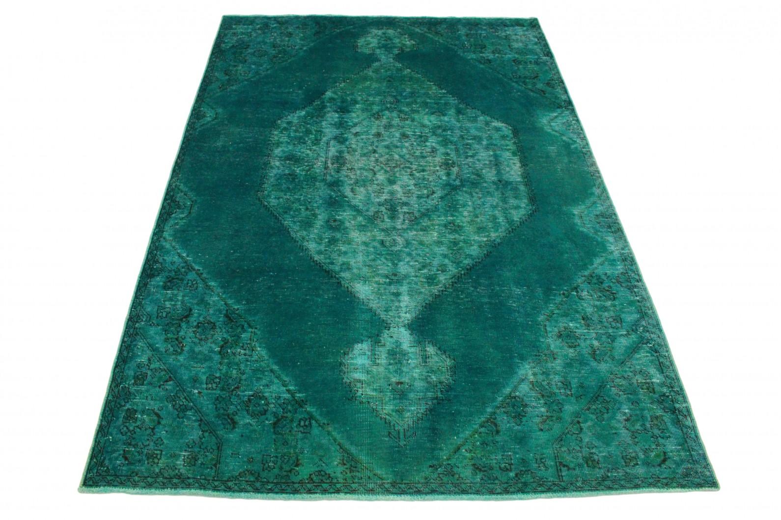 Vintage Teppich Türkis in 280x190 (1 / 4)