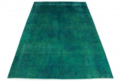 Vintage Teppich Grün in 400x270