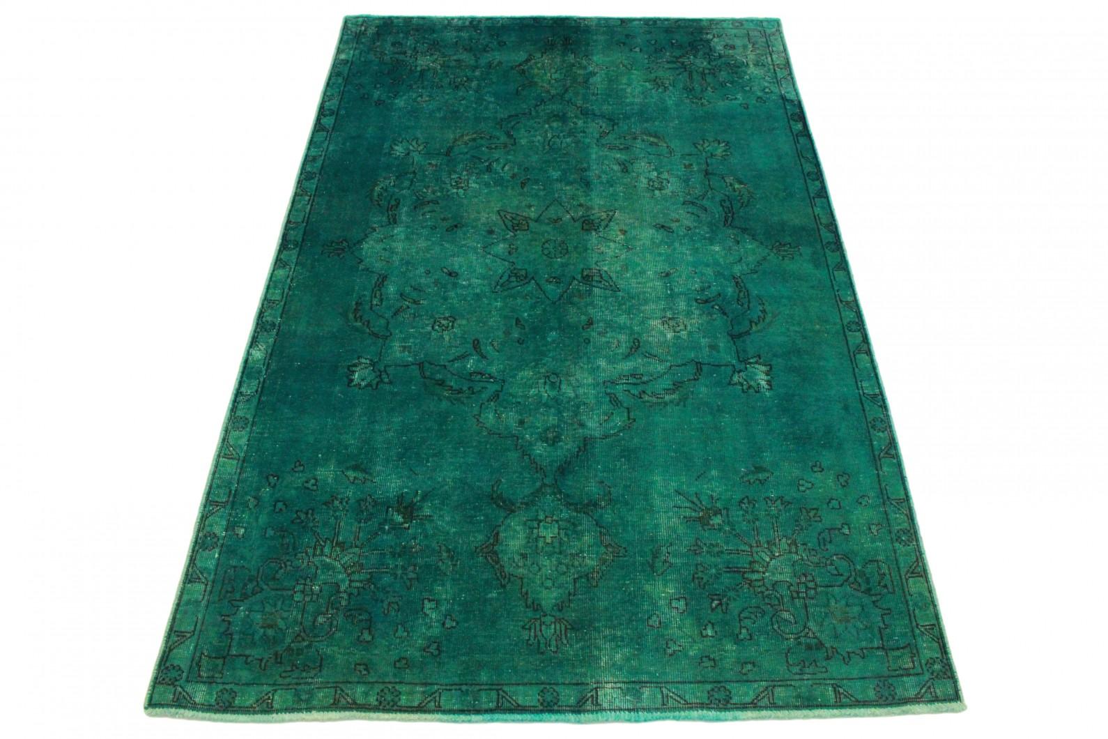 Vintage Rug Green In 250x150 1001 3551 Buy Online At