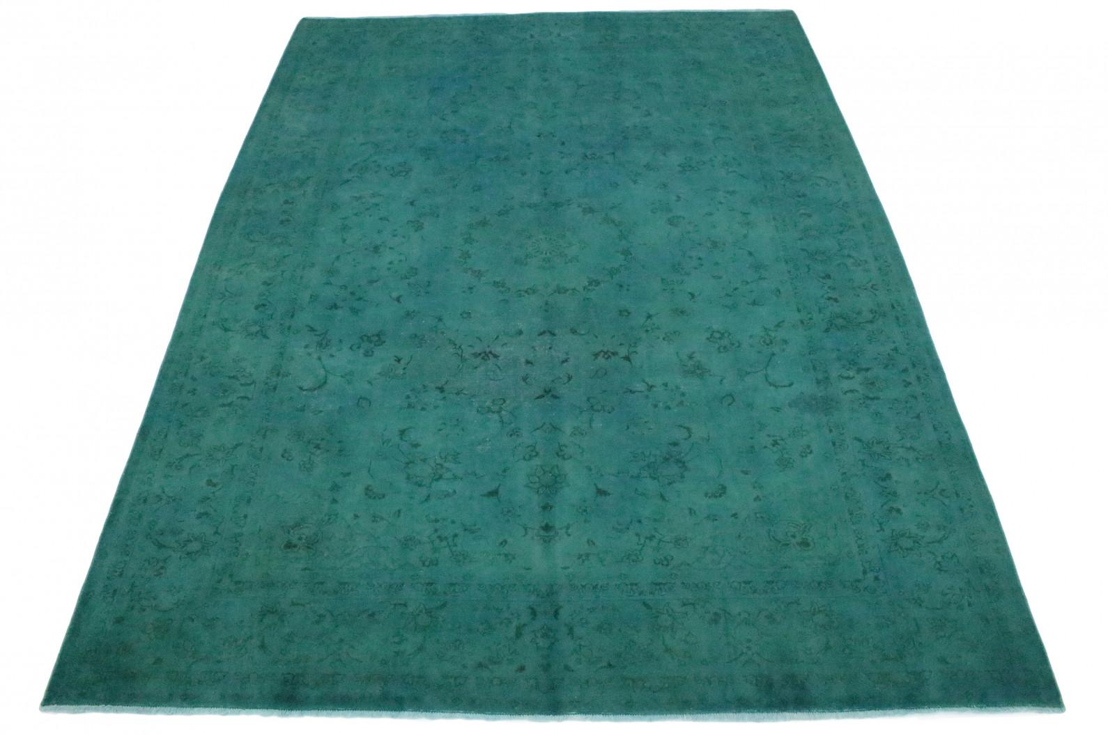 Vintage Teppich Türkis in 380x280 (1 / 4)