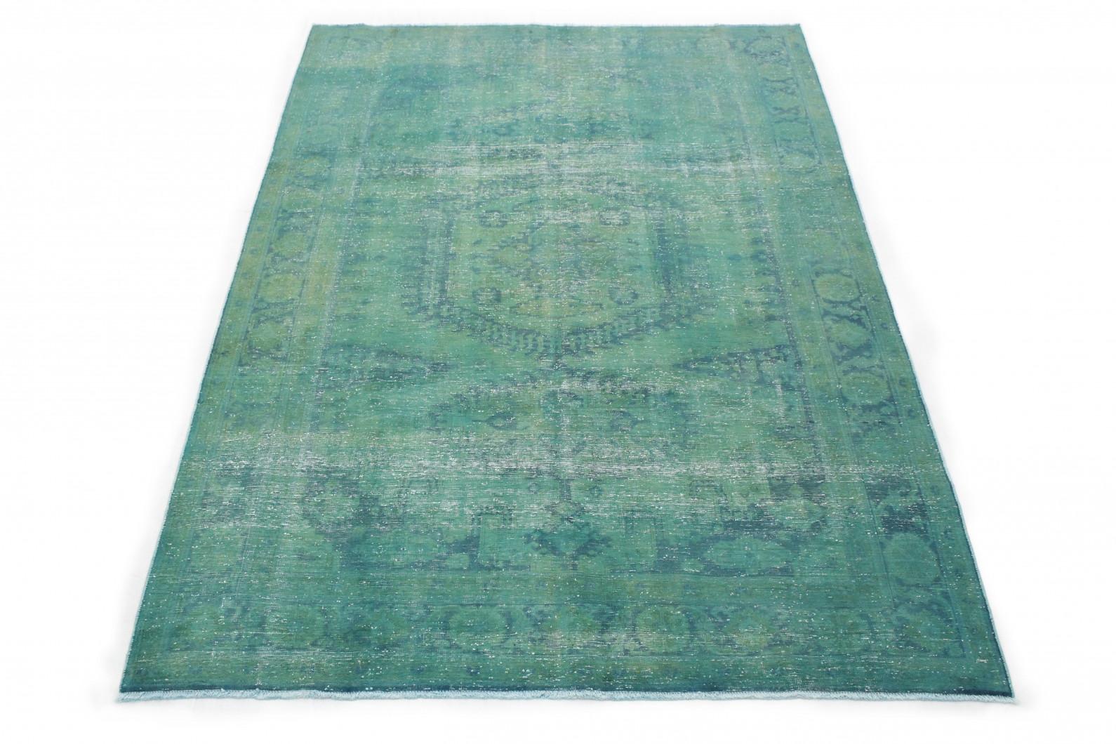 vintage teppich gr n in 300x200 1001 3563 bei kaufen. Black Bedroom Furniture Sets. Home Design Ideas