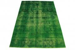 Vintage Teppich Grün in 310x210