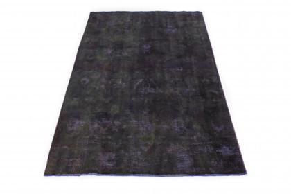Vintage Teppich Schwarz in 280x190