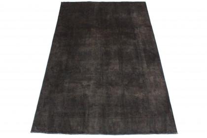 Vintage Teppich Schwarz in 290x190