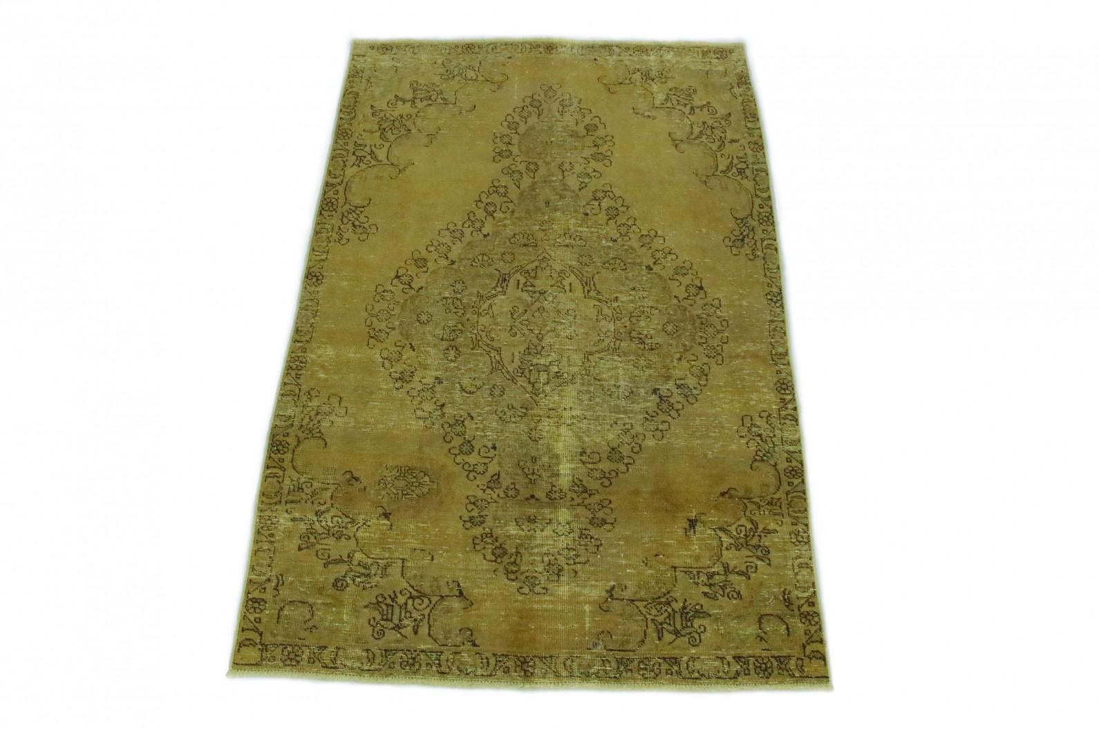 Vintage Teppich Gold in 230x150 (1 / 5)