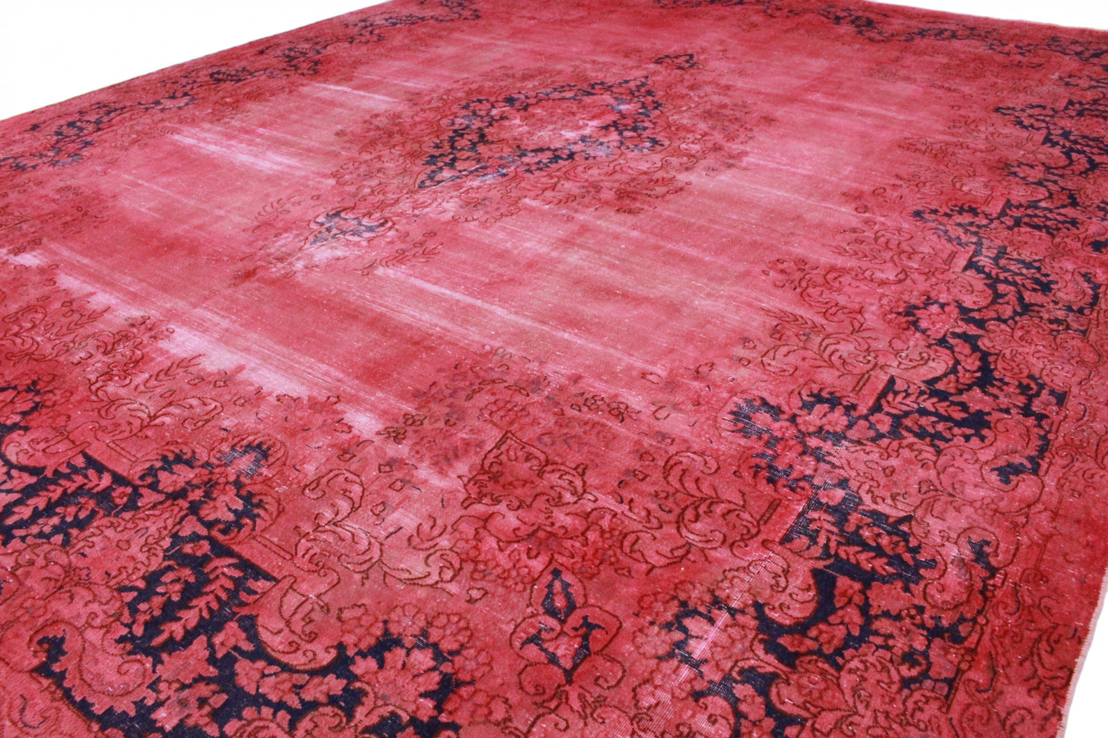 vintage teppich rosa rot in 380x290 1001 3590 bei kaufen. Black Bedroom Furniture Sets. Home Design Ideas