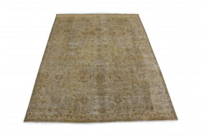 Vintage Teppich Braun Beige in 330x230