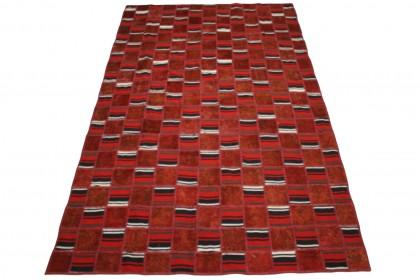 Patchwork Teppich in 300x180cm
