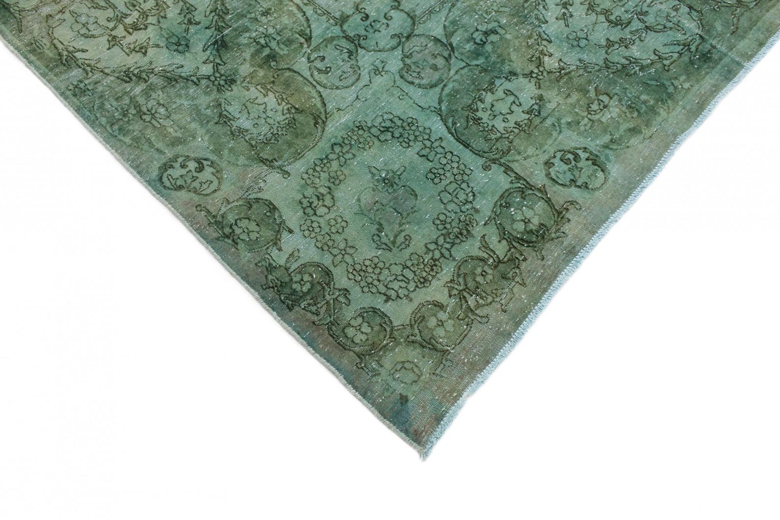 vintage teppich gr n t rkis in 420x310 1001 3678 bei. Black Bedroom Furniture Sets. Home Design Ideas