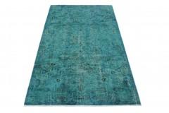 Vintage Teppich Türkis in 290x160