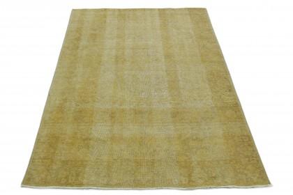 Vintage Teppich Gelb in 290x180