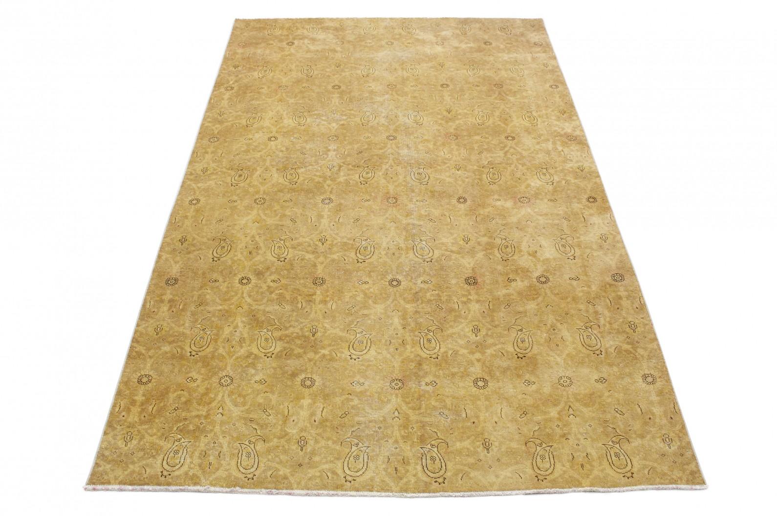 vintage teppich gold braun in 350x200 1001 3694 bei kaufen. Black Bedroom Furniture Sets. Home Design Ideas