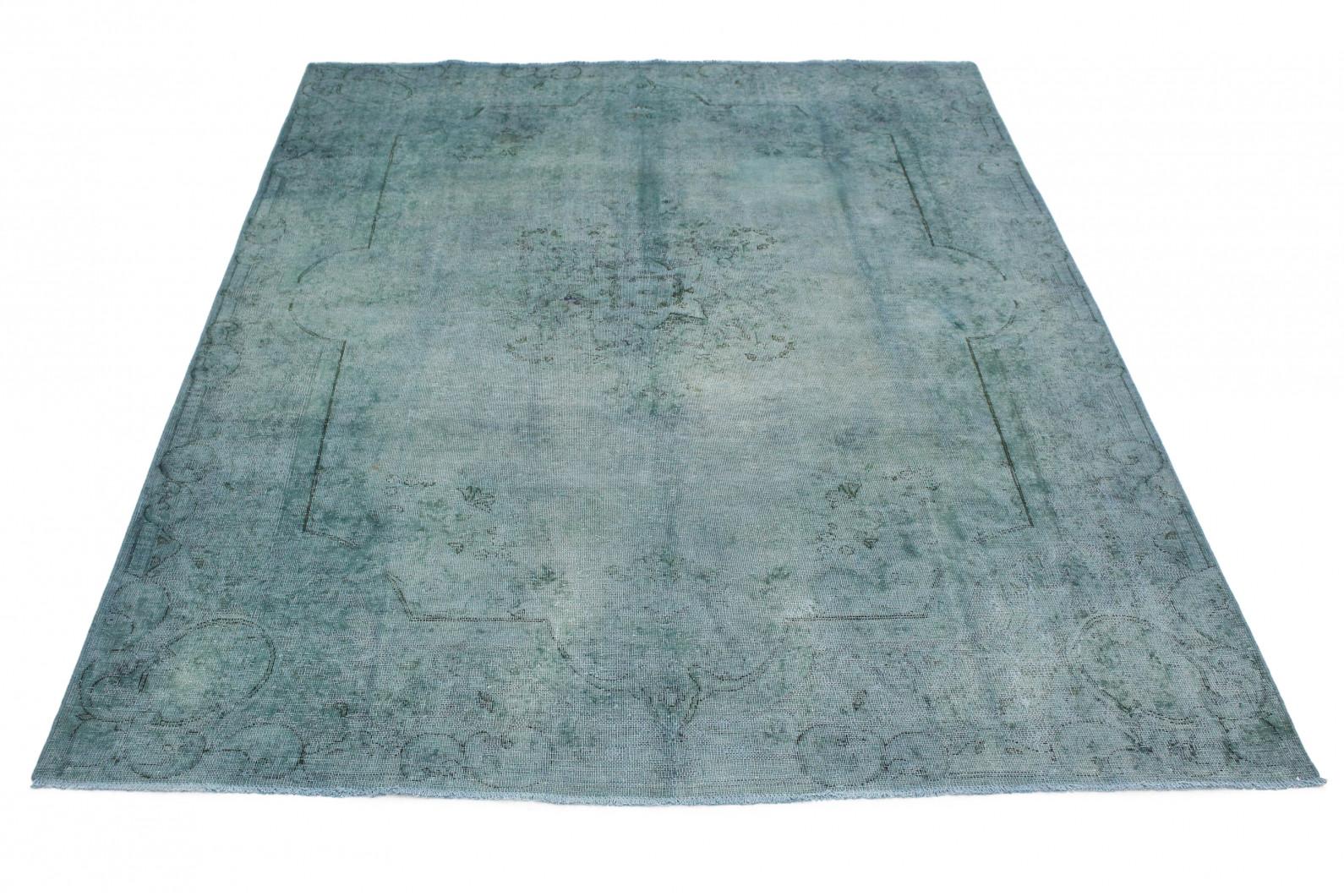 vintage teppich blau grau in 360x270 1001 3696 bei. Black Bedroom Furniture Sets. Home Design Ideas