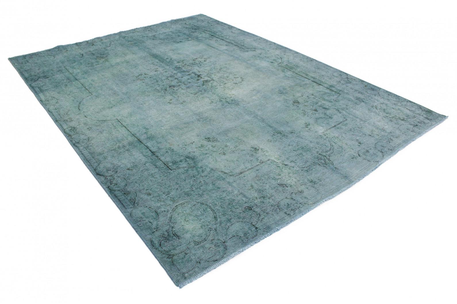 vintage teppich blau grau in 360x270 1001 3696 bei kaufen. Black Bedroom Furniture Sets. Home Design Ideas