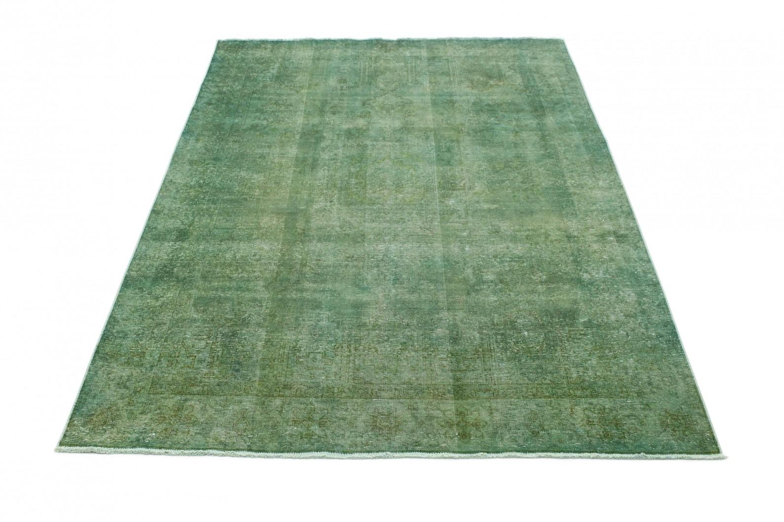 vintage teppich gr n in 300x190 1001 3702 bei kaufen. Black Bedroom Furniture Sets. Home Design Ideas