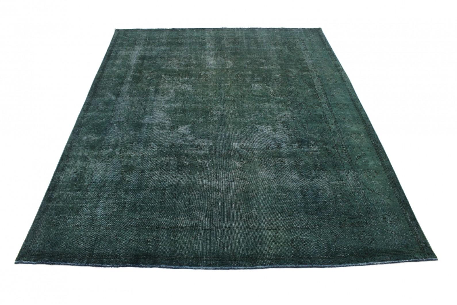 Vintage Teppich Grün in 390x300 (1 / 5)