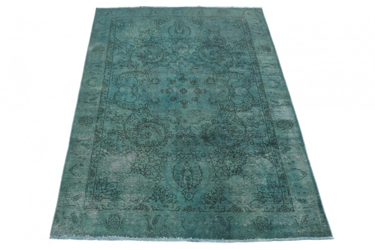 Vintage Teppich Türkis in 280x190