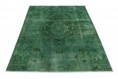 Vintage Teppich Grün in 300x190