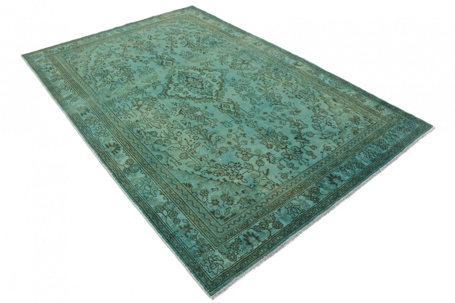 vintage teppich gr n in 300x200 1001 3710 bei kaufen. Black Bedroom Furniture Sets. Home Design Ideas
