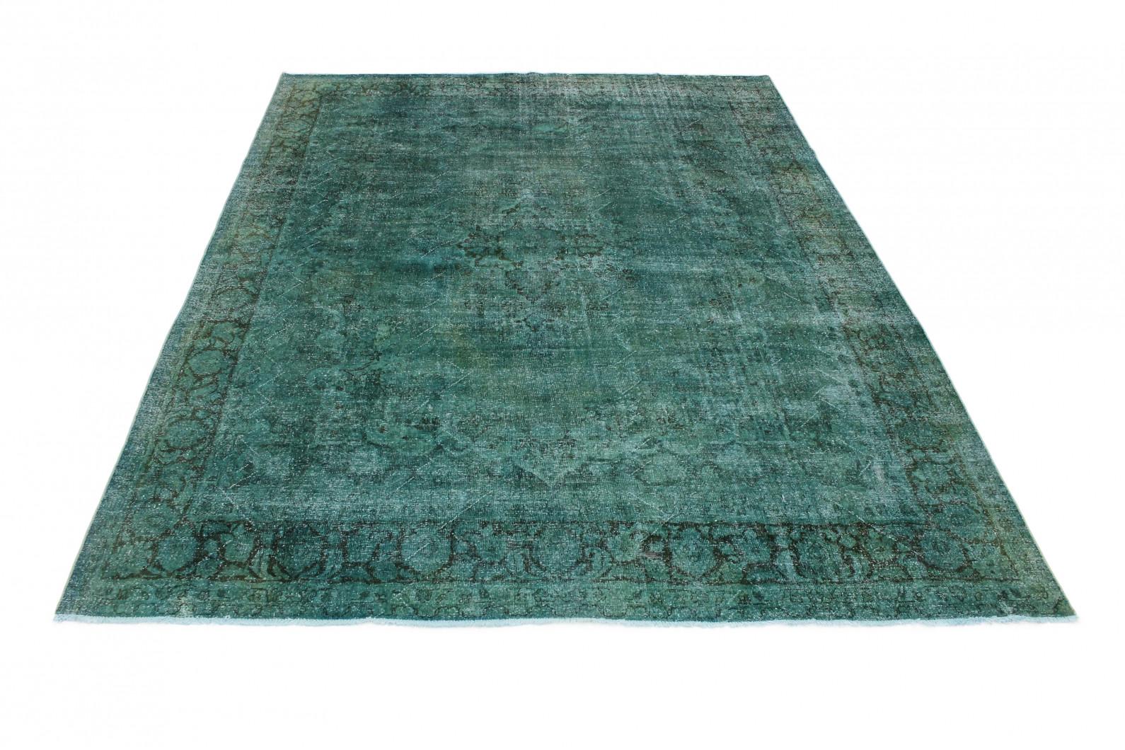 Vintage Teppich Türkis in 420x320