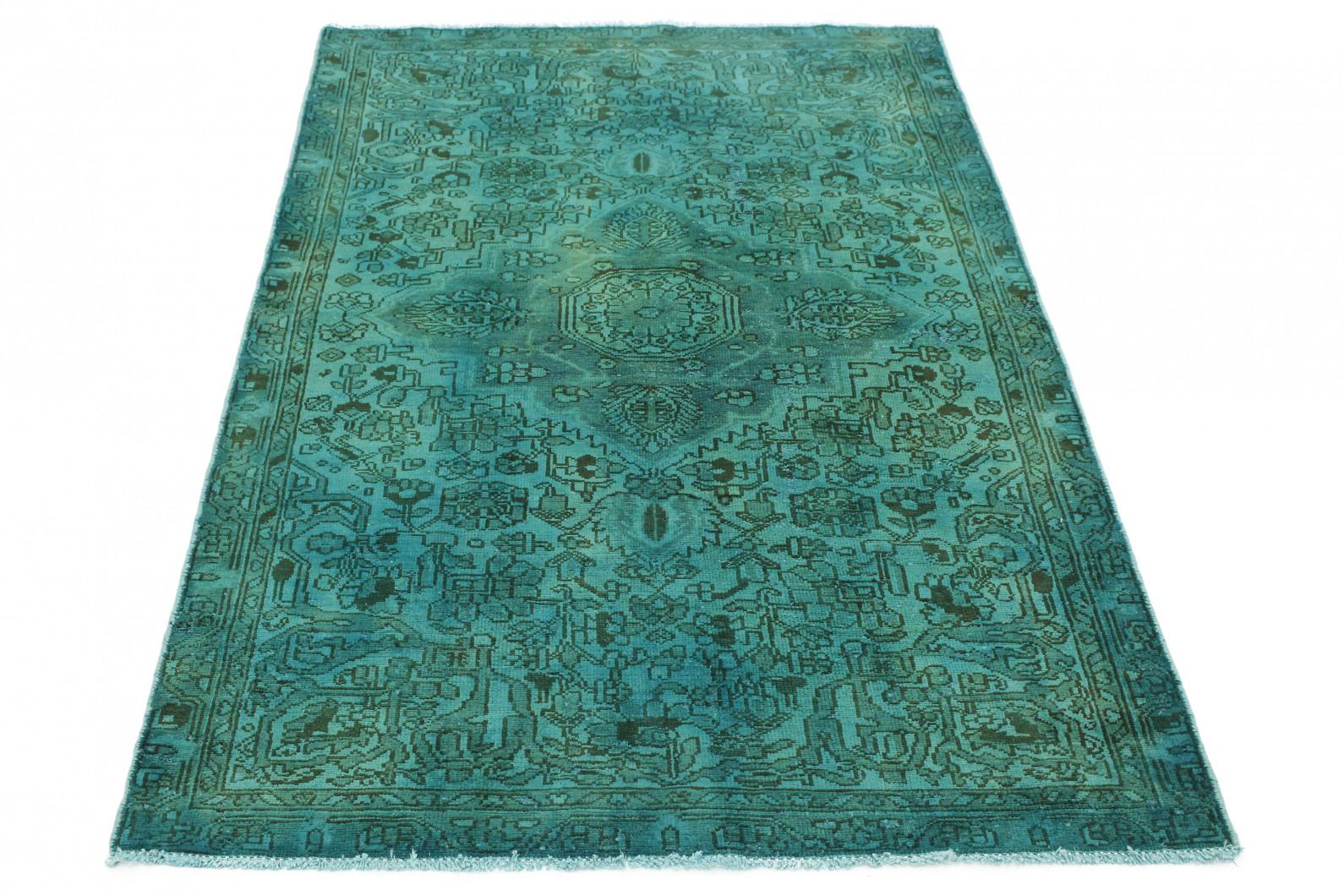vintage teppich t rkis gr n in 200x130 1001 3713 bei. Black Bedroom Furniture Sets. Home Design Ideas