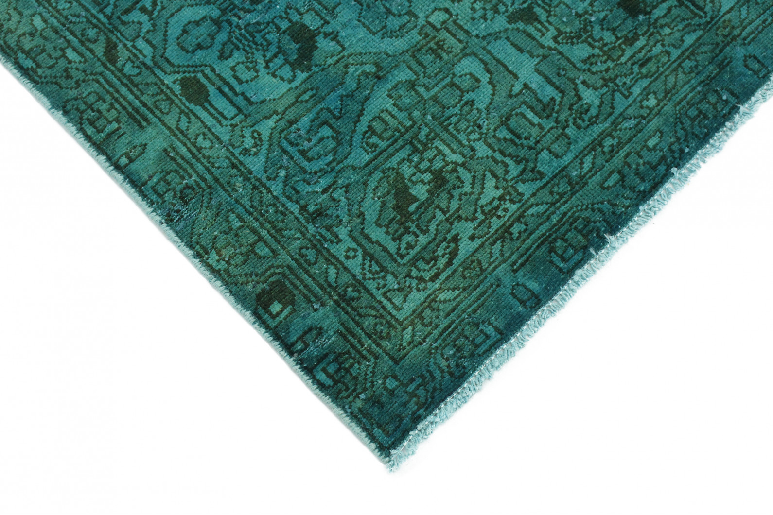 vintage teppich t rkis gr n in 200x130 1001 3713 bei kaufen. Black Bedroom Furniture Sets. Home Design Ideas