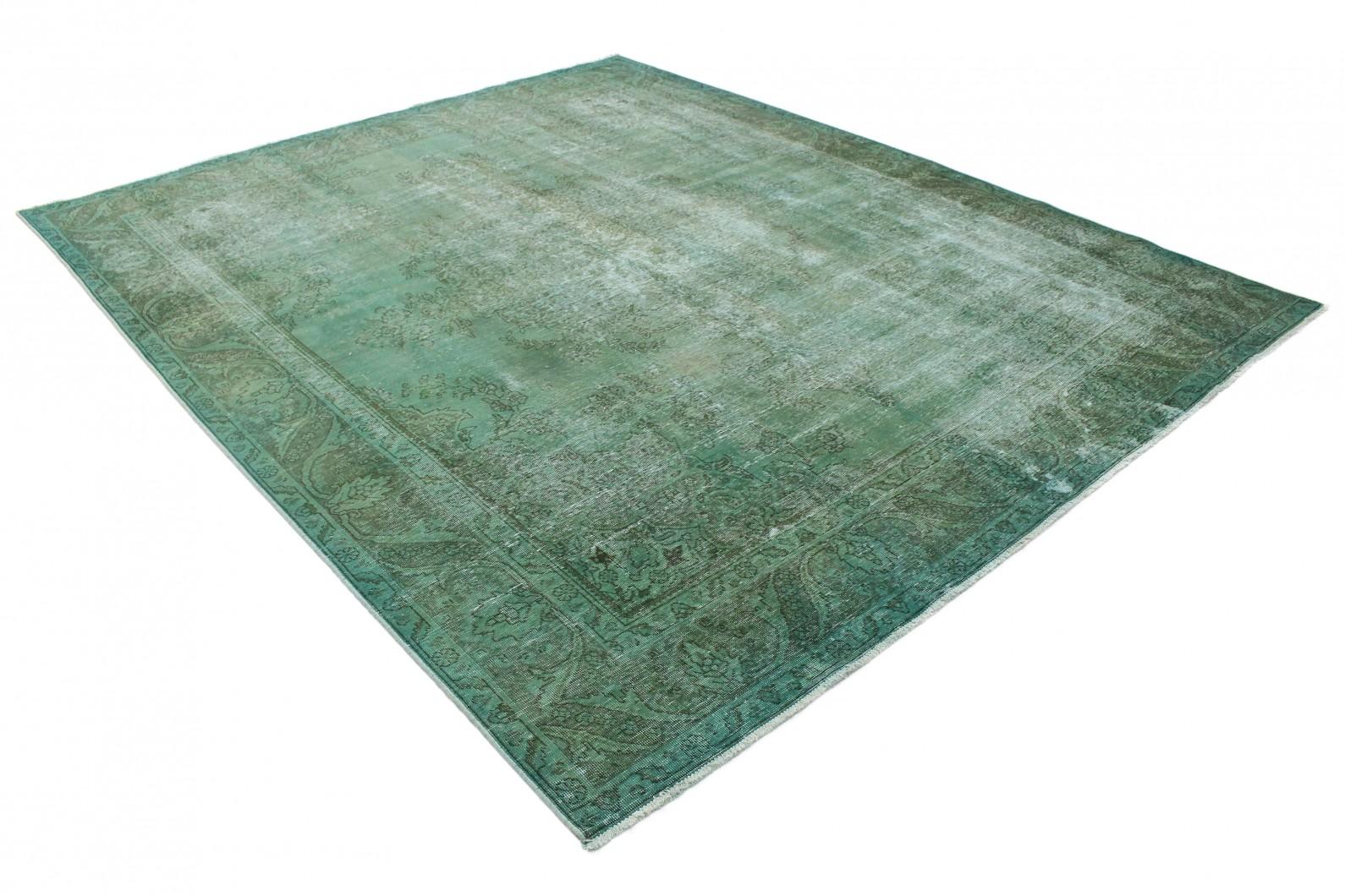 vintage teppich gr n grau in 350x290 1001 3714 bei kaufen. Black Bedroom Furniture Sets. Home Design Ideas