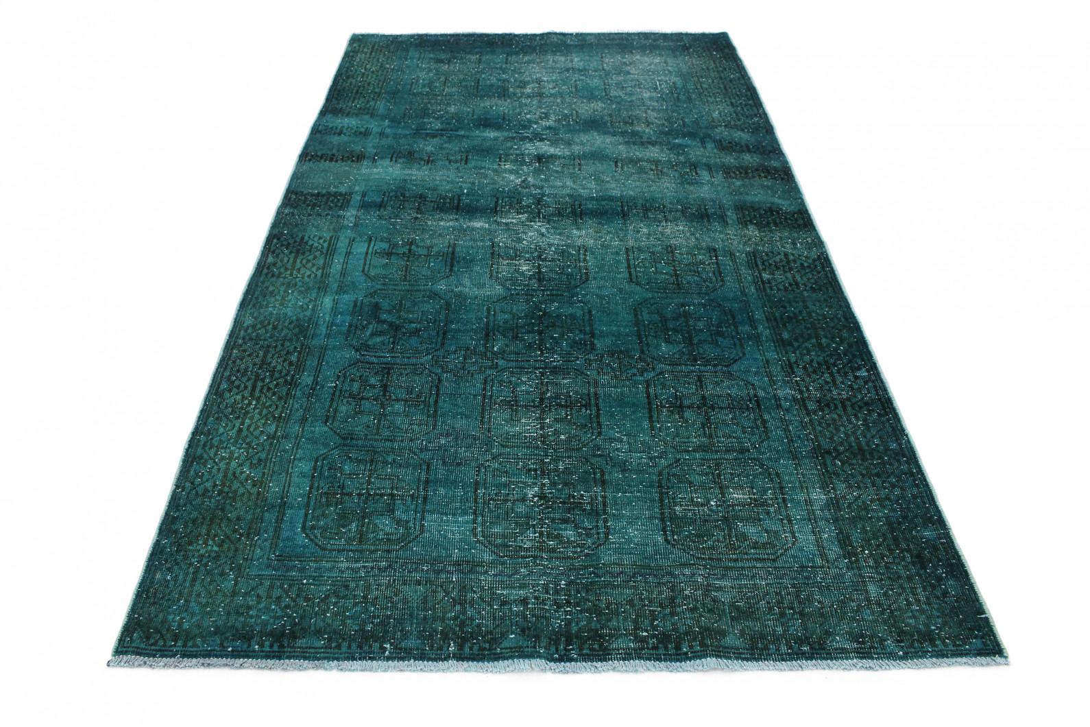 Vintage Teppich Türkis in 270x150 (1 / 3)