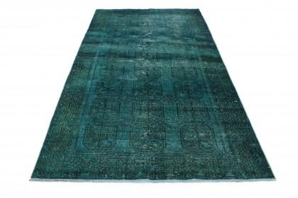 Vintage Teppich Türkis in 270x150