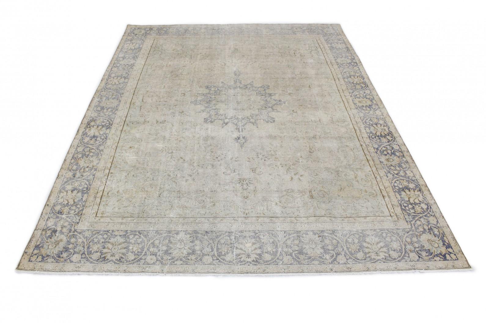 Vintage Teppich Grau Blau in 410x290 (1 / 3)
