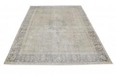 Vintage Teppich Grau Blau in 410x290