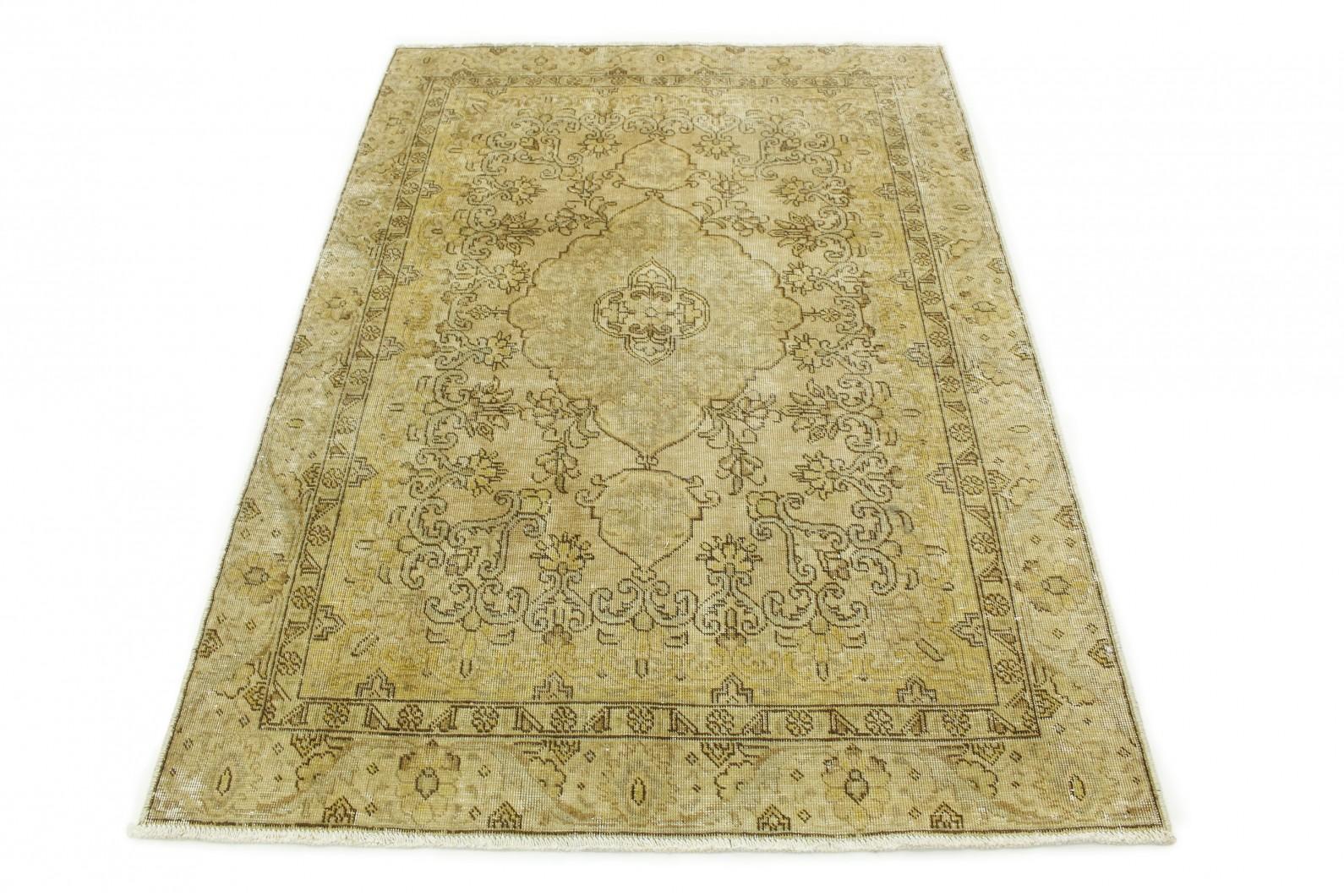 Vintage Teppich Beige in 190x130