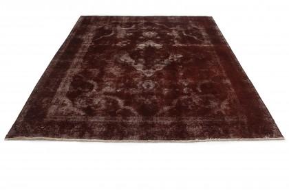 Vintage Teppich Rost Braun in 330x240