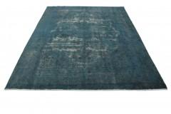Vintage Teppich Türkis Blau in 380x290