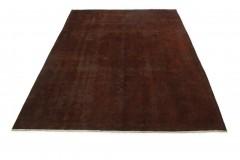 Vintage Teppich Braun Rost in 310x230