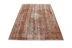 Vintage Rug Rust Brown in 250x180