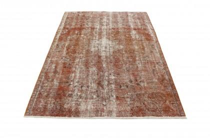 Vintage Teppich Rost Braun in 250x180
