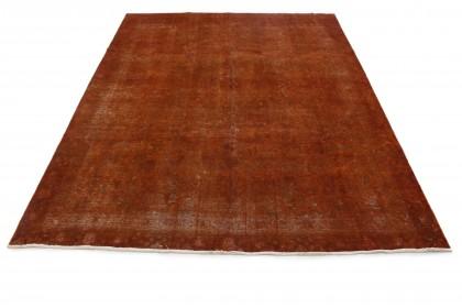 Vintage Teppich Rost Braun in 360x260
