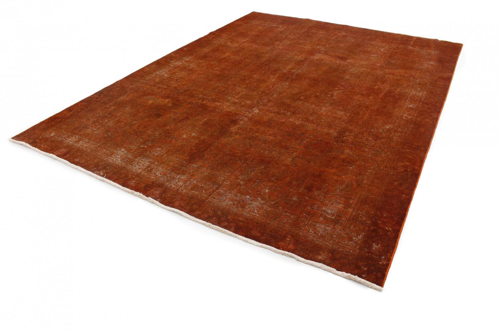vintage teppich rost braun in 360x260 1001 4159 bei kaufen. Black Bedroom Furniture Sets. Home Design Ideas