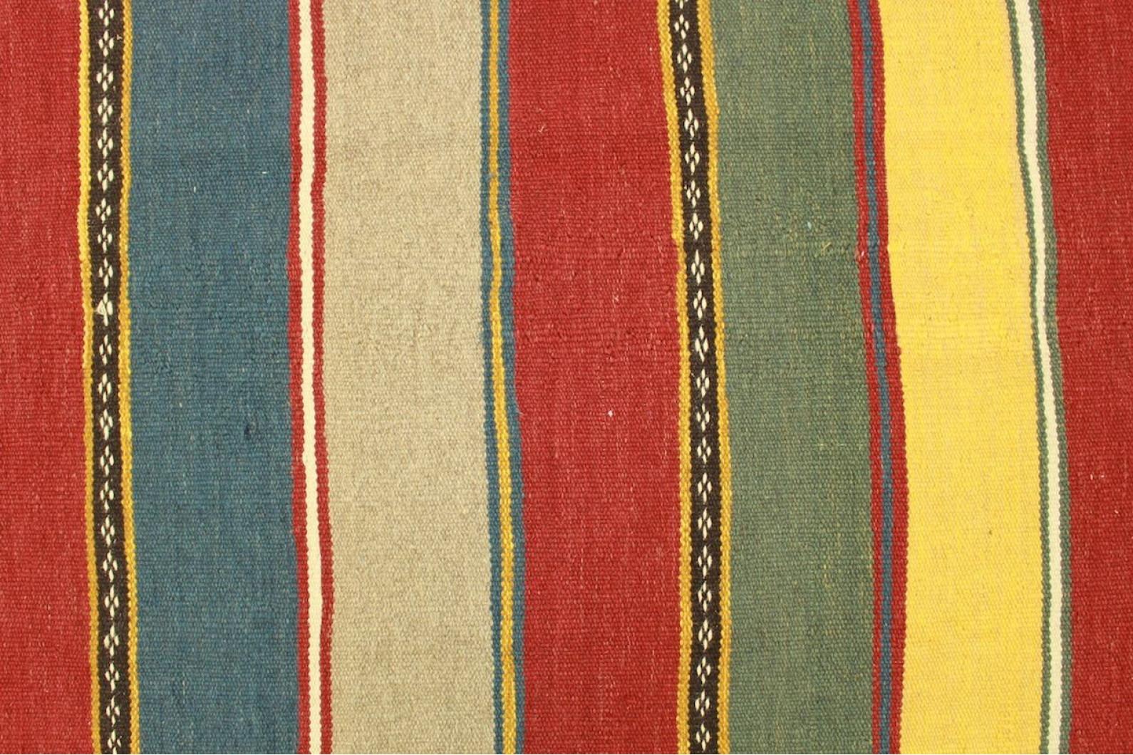 kelim teppich rot blau gelb in 260x170cm 1001 5008. Black Bedroom Furniture Sets. Home Design Ideas