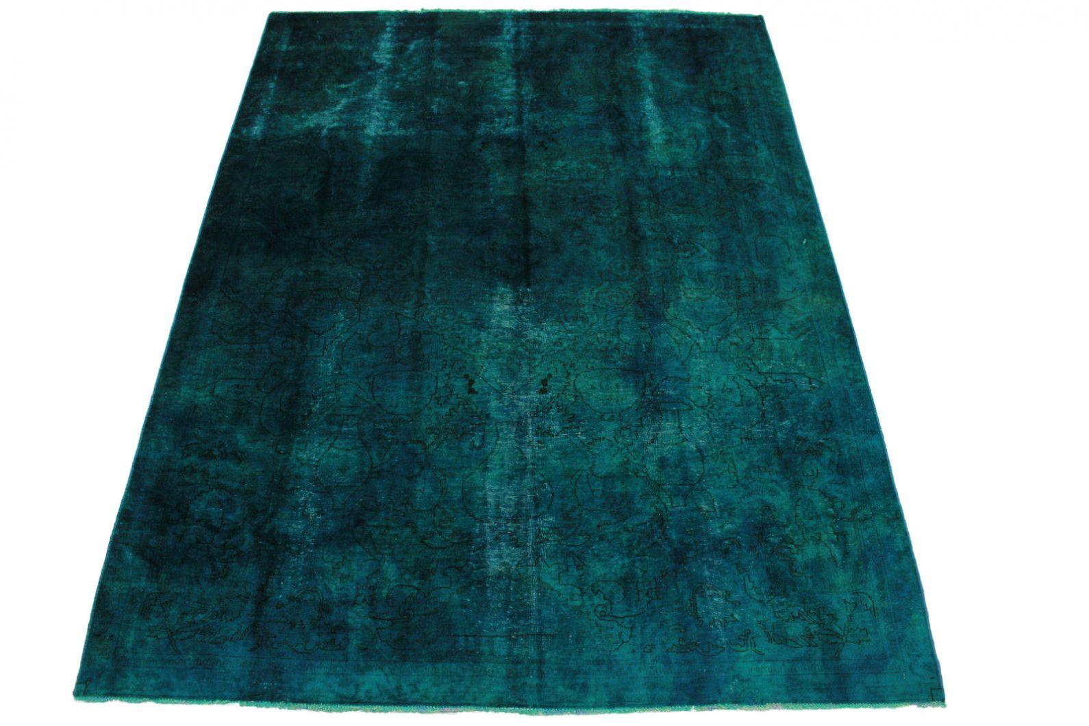 vintage teppich blau t rkis in 300x220cm 1001 5017 bei kaufen. Black Bedroom Furniture Sets. Home Design Ideas