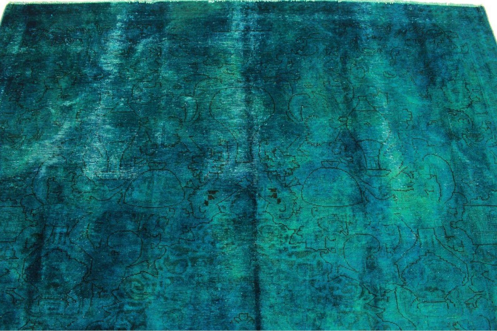 vintage teppich blau t rkis in 300x220cm 1001 5017 bei. Black Bedroom Furniture Sets. Home Design Ideas