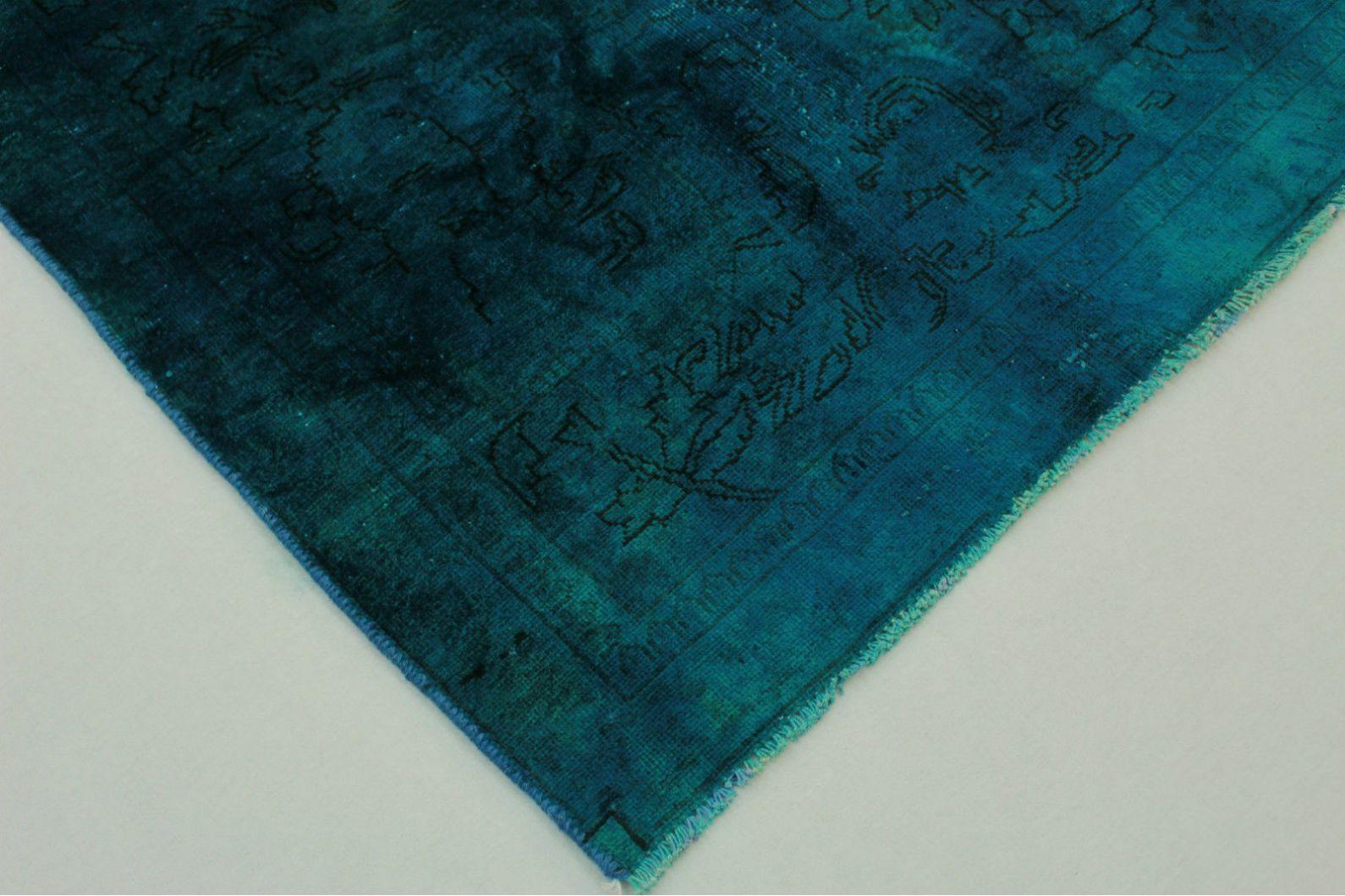 Vintage teppich blau türkis in cm  bei carpetido