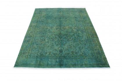 Vintage Teppich Grün in 340x240cm