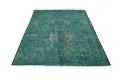 Vintage Teppich Türkis in 380x290cm