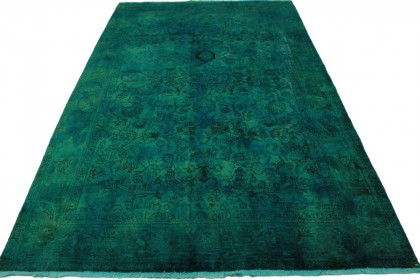 Vintage Teppich Grün in 310x190cm
