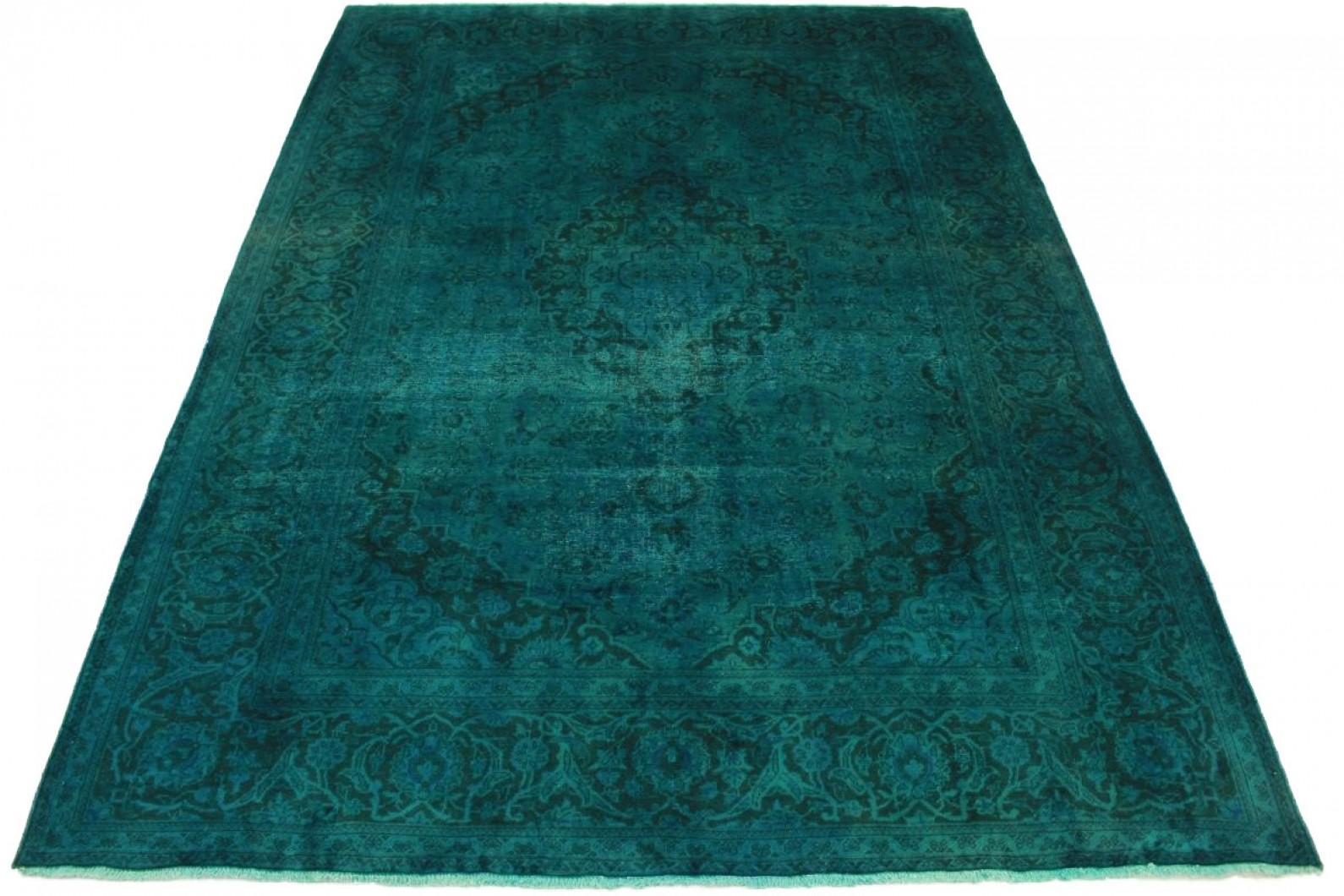 vintage teppich t rkis in 340x250cm 1001 5035 bei kaufen. Black Bedroom Furniture Sets. Home Design Ideas
