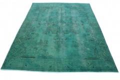Vintage Teppich Türkis in 390x300cm