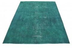 Vintage Teppich Türkis in 380x300cm